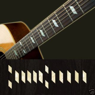 Texan (WS) Fret Markers Inlay Sticker Guitar Epiphone