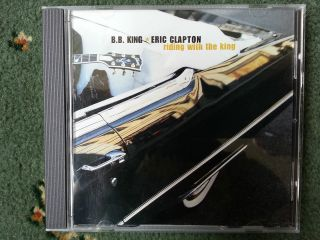 King & Eric Clapton Riding With The King CD PROMO RARE NEW Mint
