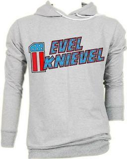 Evel Knievel Biker Motorcycle Vtg T Hoodie Jumper S,M,L