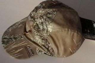 New Mens Extra Large X Lg XL Praire Ghost Camo Hunting Hat Cap & Ear