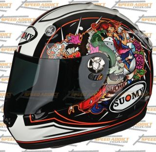 Suomy Vandal Mirror Full Face Motorcycle Helmet Large