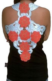 Rockabilly Punk Rock Baby CROSS FLOWER POWER 60ies ViP TANK TOP SHIRT