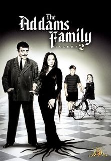 The Addams Family   Volume 2 DVD, 2007, 3 Disc Set, Dual Side