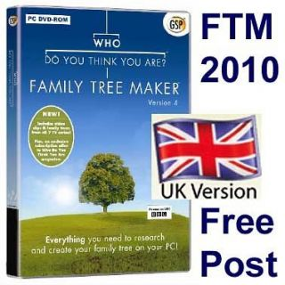 family tree maker 2010 in Computers/Tablets & Networking