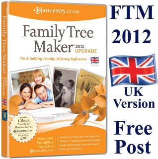 family tree maker 2012 in Hobbies & Leisure