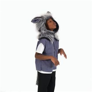 Childrens Big Bad Mr Wolf Tabard Size 3 8yrs Fancy Dress Book Week