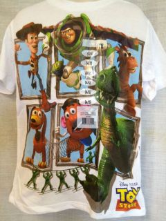 TOY STORY KIDS TSHIRT ASSORTED SIZES BRAND NEW WITH TAGS