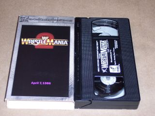 WWF WrestleMania 2 april 7,1986 Hulk Hogan British Bulldogs MrT King