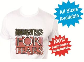 tears for fears womans T Shirt New White Custom Print Tee