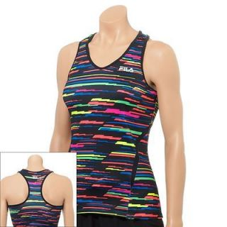 26ebed10e939f ... FILA SPORT Spin Lightning Performance Tank womens athletic top RETAIL   ...