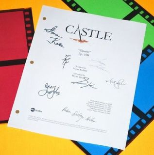 CASTLE GHOSTS SCRIPT SIGNED RPT STANA KATIC