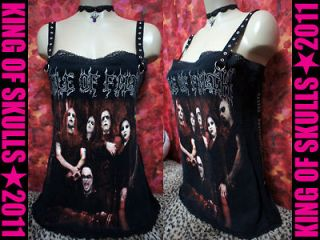 CRADLE OF FILTH *DIY* HEAVY METAL TANK TOP Medium 2007 Tour T shirt