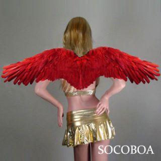 Angel Wings Large Costume Fairy Props FREE HALO halloween fire bird