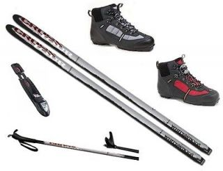 NEW 2012 2013 cross country NNN SKIS/BINDINGS/​BOOTS/POLES   157 177