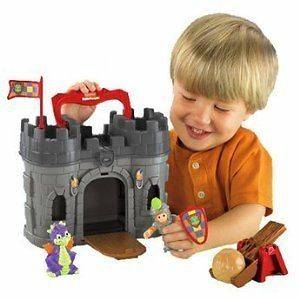 NEW Fisher Price Little People Play n Go Castle