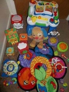 21 big lot baby toys leapfrog activity table fisher price dog