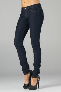 PLUS SIZE SKINNY Jeans Jeggings WOMENS Slim Trousers Navy Denim Pants