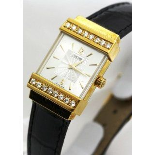 Concord Crystal 18k Gold and Diamond Bezel Womens Watch: Watches