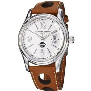 Frederique Constant Mens FC303HS6B6 Healey Tan Leather Strap Watch