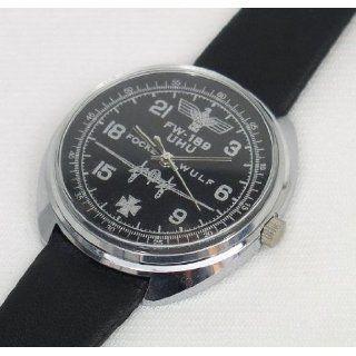 Mechanical watch 24 hr (#0473) German WWII Focke Wulf Fw