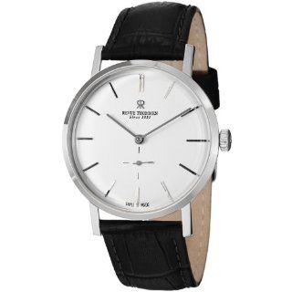 Revue Thommen Mens 17090.3532 Classic Black Leather Strap Watch