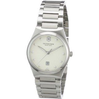 Victorinox Swiss Army Womens 241513 Victoria Silver Dial Watch Watch