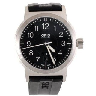 Oris Mens 735 7640 4164RS BC3 Sportsman Day Date Aviation Watch