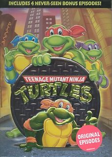 Teenage Mutant Ninja Turtles DVD, 2004