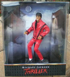 MICHAEL JACKSON THRILLER NUMBERED 24342 FULL ARTICULATING COLLECTIBLE
