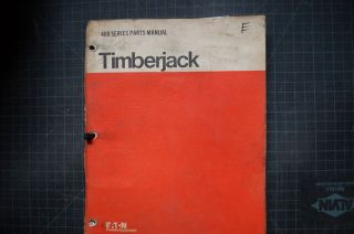 Timberjack 404 Skidder Illustrated Parts Manual Book catalog Shop