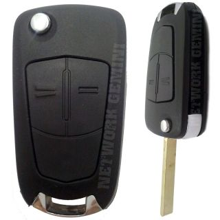 HOLDEN ASTRA   2 BUTTON REMOTE FLIP KEY BLANK SHELL