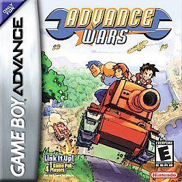 Advance Wars Nintendo Game Boy Advance, 2001