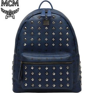 MCM Stark Navy Backpack Large12AW Version Expected Free Shipping Price