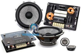 FOCAL UTOPIA ELITE BE 165W RC 6.75 COMPONENT SPEAKERS TWEETERS
