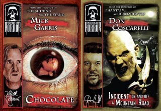 Masters of Horror   Coscarellil Garris 2 Pack DVD, 2006, 2 Disc Set