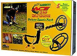 GARRETT ACE 250 DELUXE SPORTS PACK METAL DETECTOR NEW