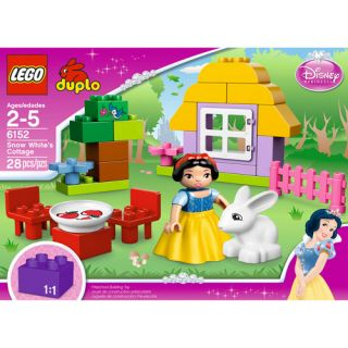 LEGO DUPLO Disney Princess Snow Whites Cottage Building Blocks