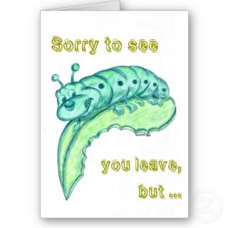 Good Bye Card / Congratulations Card from Zazzle