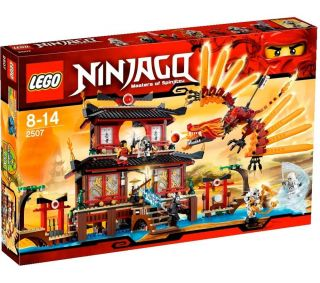 LEGO Ninjago   Fire Temple   2507  Pixmania UK