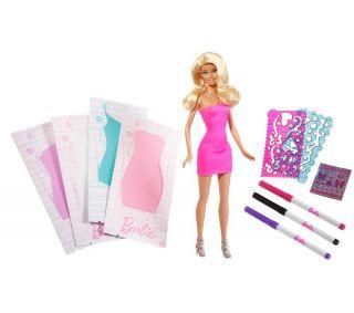 MATTEL Barbie Dress Studio Doll  Pixmania UK