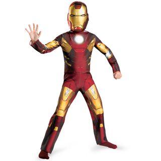 The Avengers Iron Man Halloween Costume   Child Size 4 6