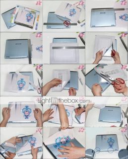 Laptop Notebook Cover Protective Skin Sticker(SMQ2387)   USD $ 7.30