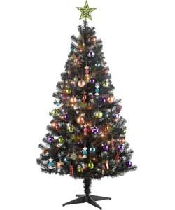 Buy Ready to Dress with Sweety Decorations Christmas Tree   6ft at