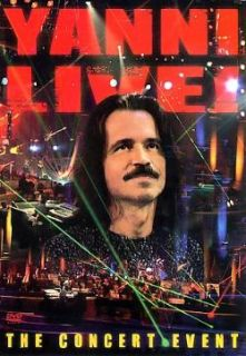 Yanni   Live The Concert Event DVD Cover Art