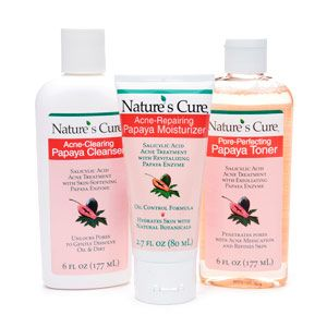 Buy Natures Cure Anti Acne Papaya Skin Care System & More  drugstore