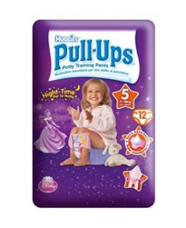 Huggies® Pull Ups® Disney Princesses Night Time Girl Size 5 12 Potty