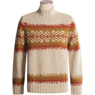 Timberland Handknit Mock Turtleneck Sweater   Wool Angora (For Men