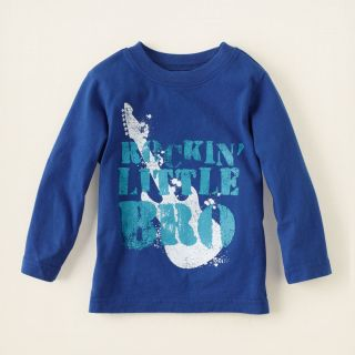 baby boy   rocker little bro graphic tee  Childrens Clothing  Kids