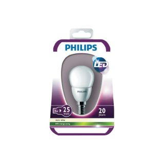 Philips LED Leuchtmittel Matt P45 LED E14 4 W Warm Weiß Tropfenform