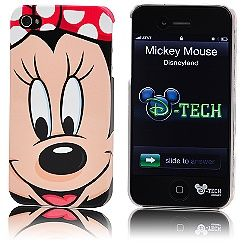 Minnie Mouse Face iPhone 4 Case